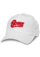 American Needle Bowie Ballpark Hat in Snow
