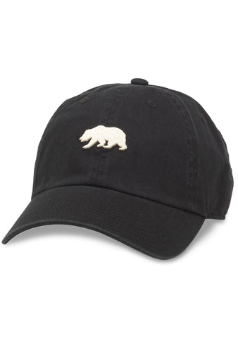 California Ballpark Dad Hat in Black