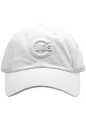 American Needle Chicago Cubs Tonal Ballpark Raglan Baseball Hat in White