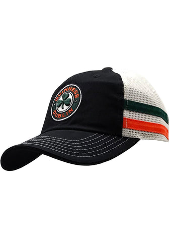 American Needle X Guinness Foundry Hat in Black/Ivory