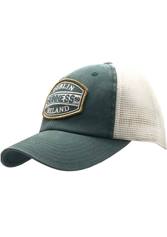 American Needle X Guinness Old School Hat in Green/Ivory