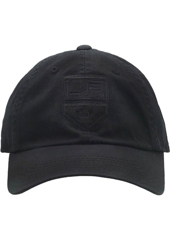 American Needle LA Kings Blue Line Tonal Hat in Black