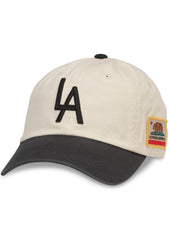 American Needle Los Angeles United Slouch Baseball Hat in Ivory