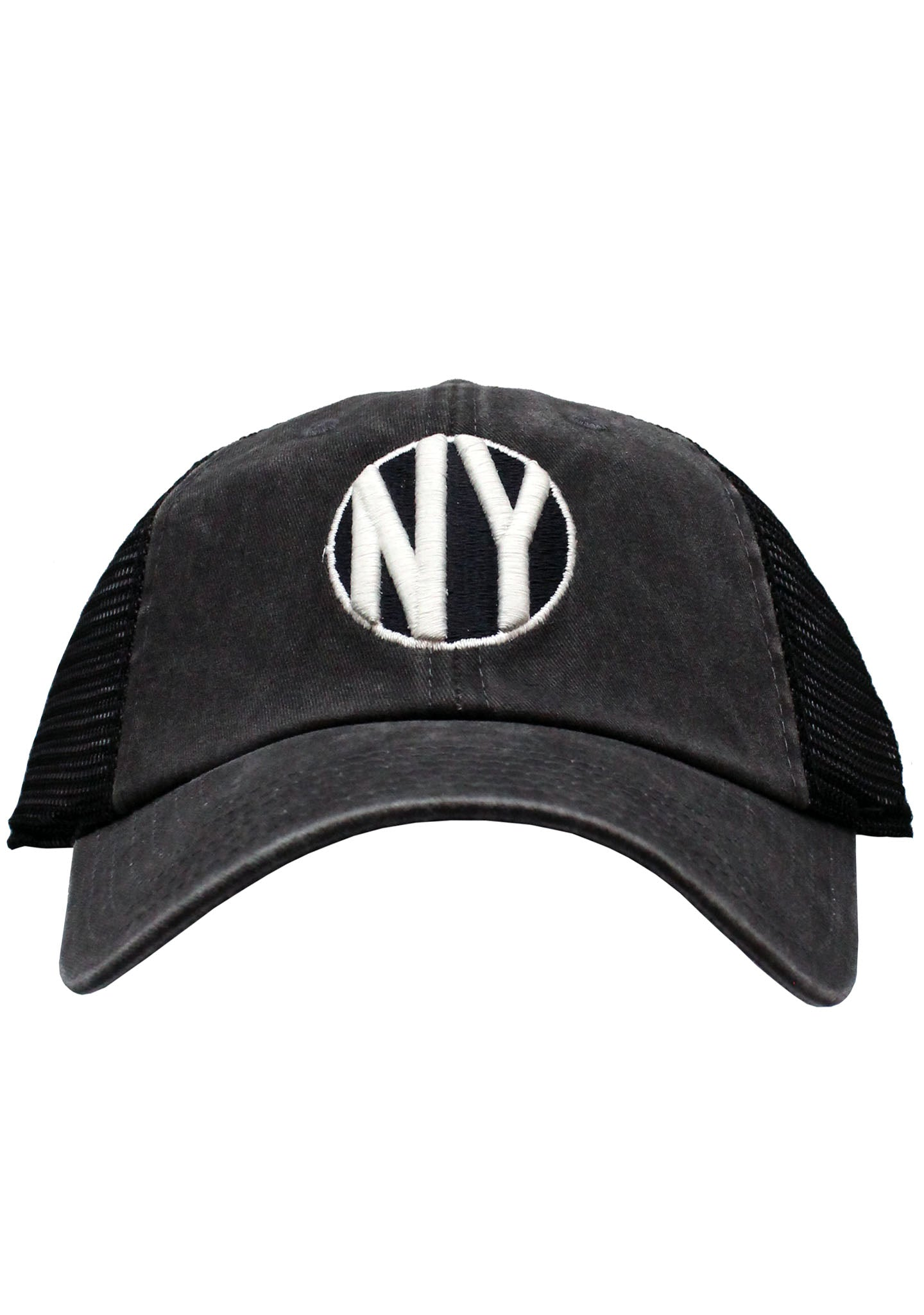 4a3291a57d6 New York Raglan Bones Hat in Black