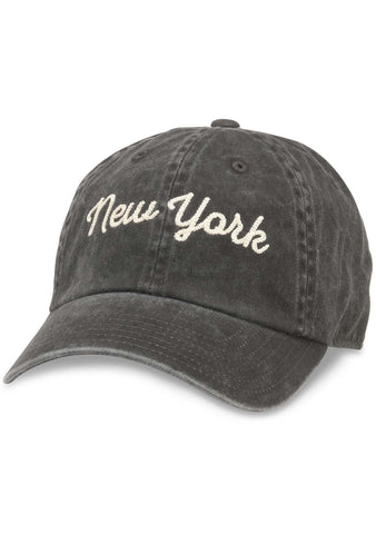 American Needle New York Tightrope Raglan Hat in Black
