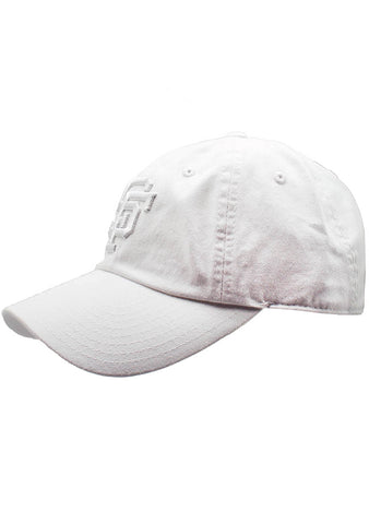 American Needle San Francisco Giants Tonal Ballpark Raglan Baseball Hat in White