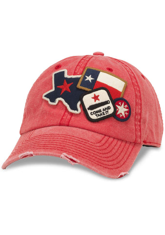 American Needle Texas Iconic Raglan Hat