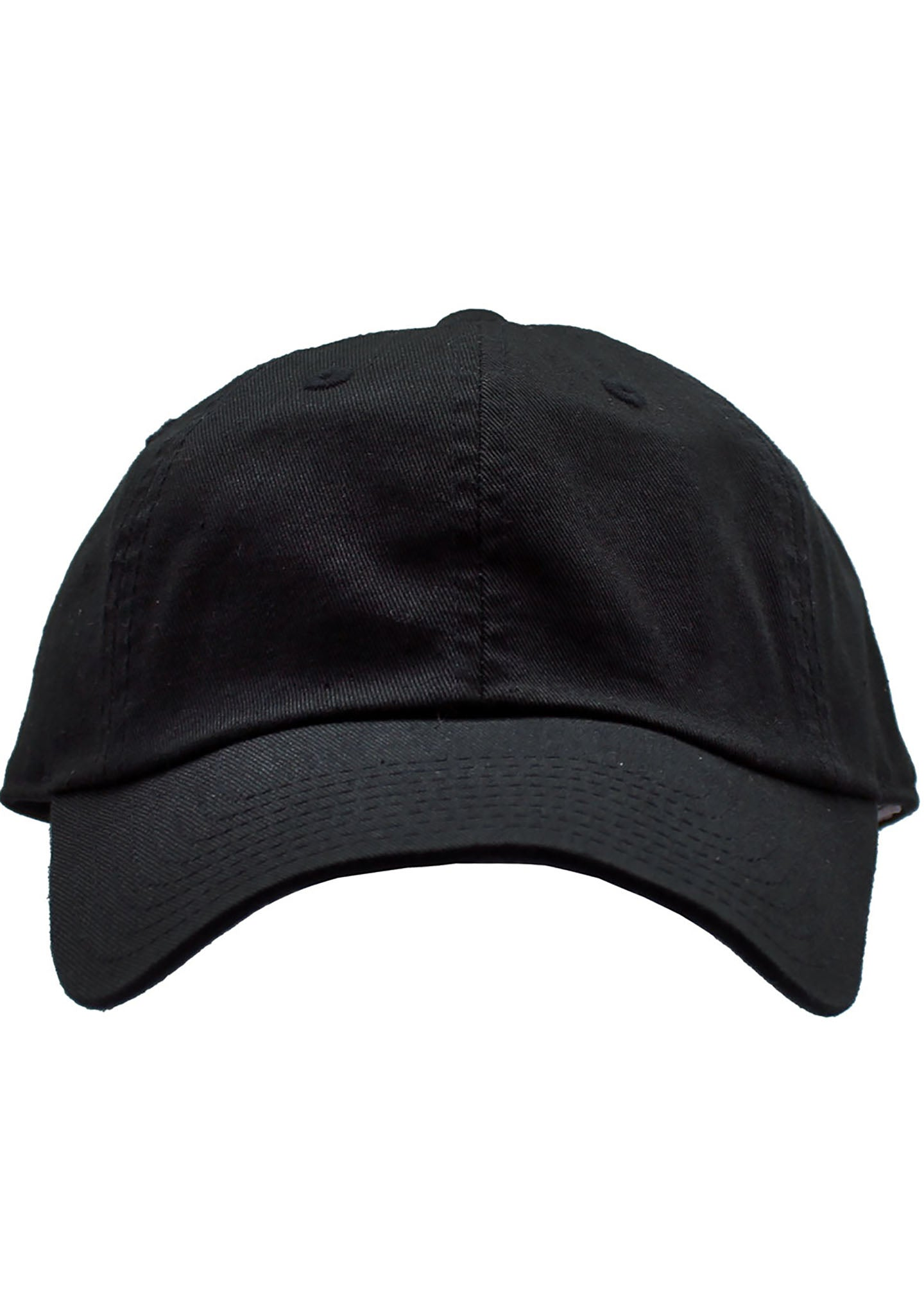 American Needle Washed Slouch Raglan Hat in Black