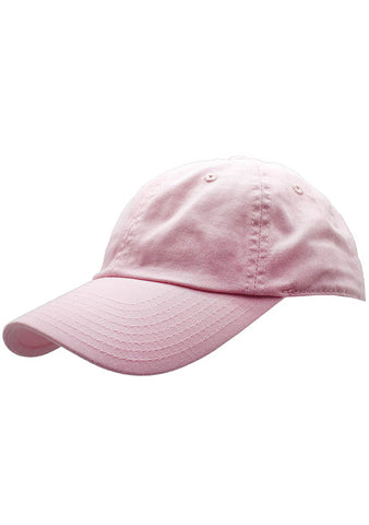 American Needle Washed Slouch Raglan Hat in Pink
