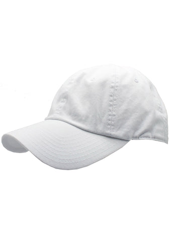 American Needle Washed Slouch Raglan Hat in White