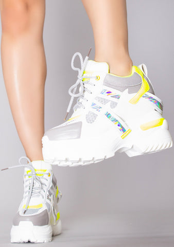 Afterglow Platform Wedge Sneakers