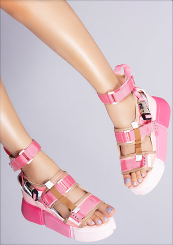 Bubblegum Crisis Platform Sandals