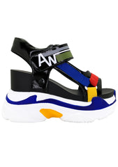 On the Move Platform Sandals