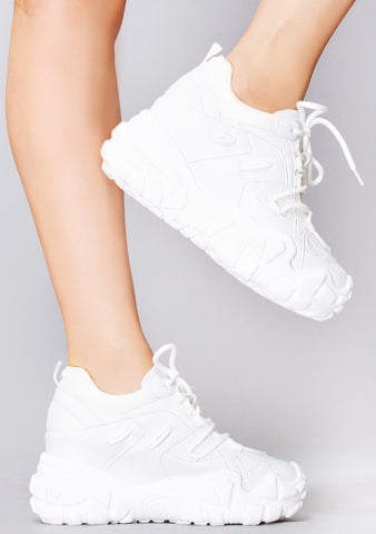 Pure Vibes Platform Sneakers