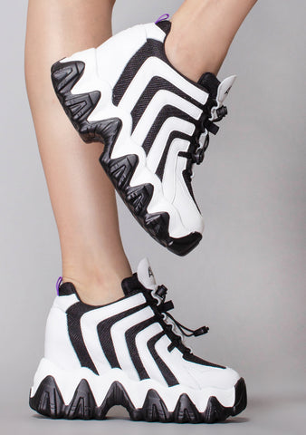Speed Junction Platform Wedge Sneakers
