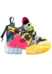 X LASR Exclusive Toxic Temptress Platform Sneakers