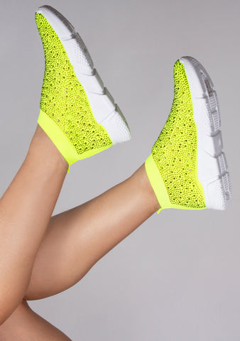 Neon Tonic Diamond Sneakers