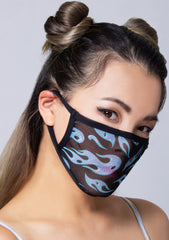 Arctic Flame Dust Mask
