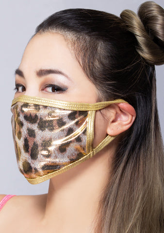 Golden Cheetah Dust Mask