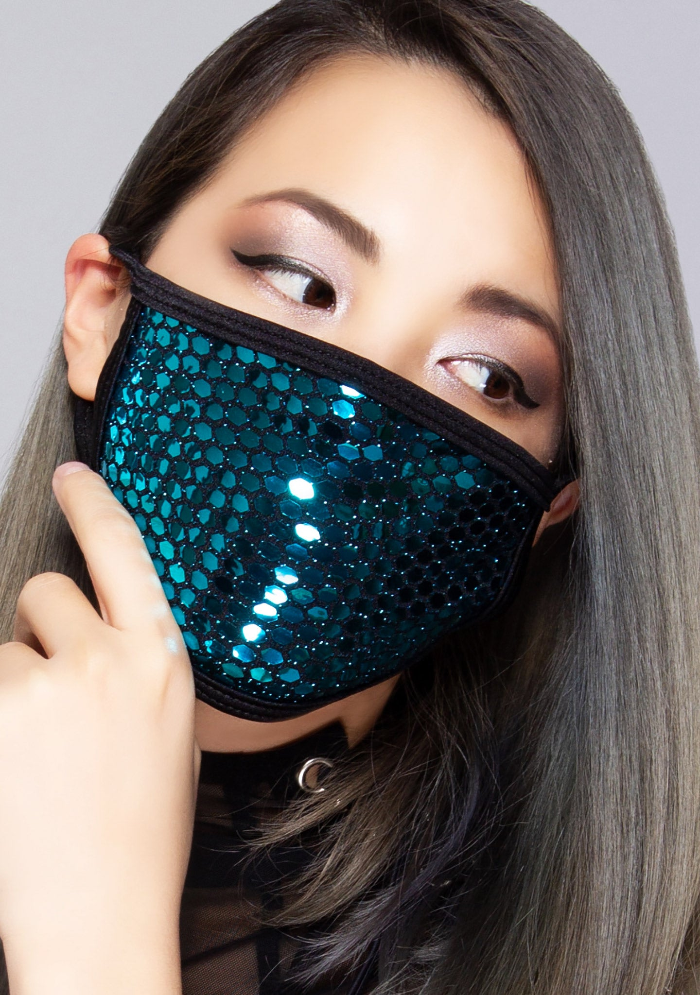 Sapphire Party Dust Mask