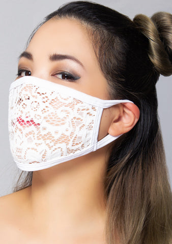 Snow She-Lace Dust Mask
