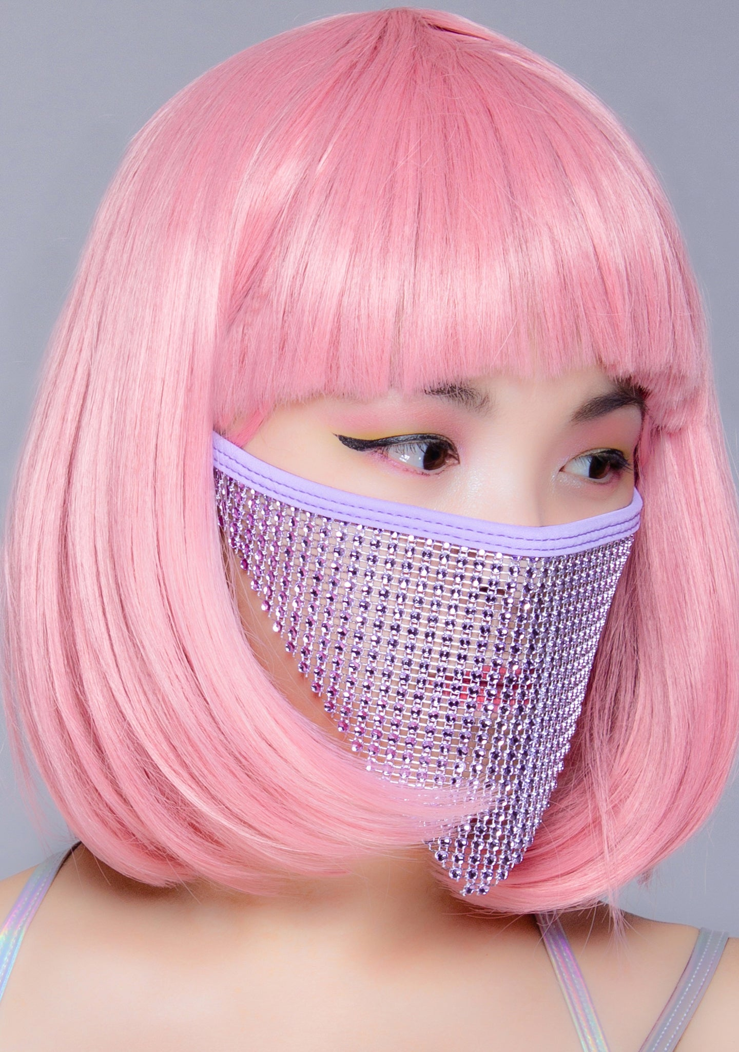 Violet Crystal Face Mask