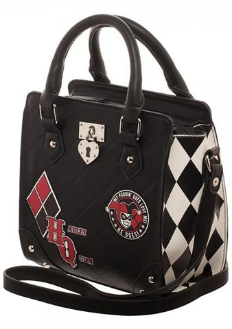 X DC Comics Harley Quinn Mini Brief Satchel Bag