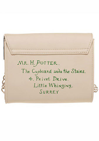 X Harry Potter Hogwarts Letter Sidekick Crossbody Bag