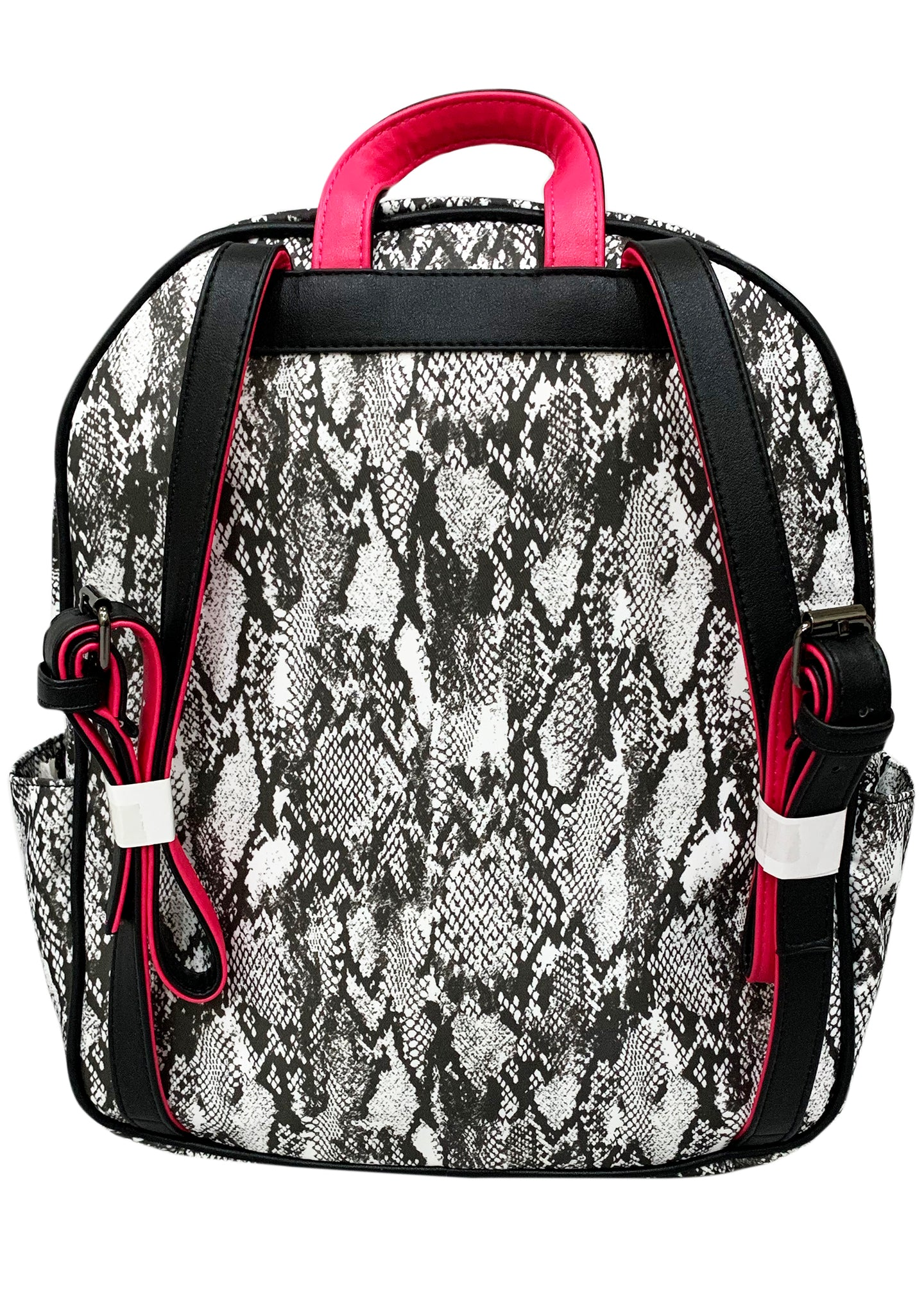 Gone Wild Backpack in Black and White Snake