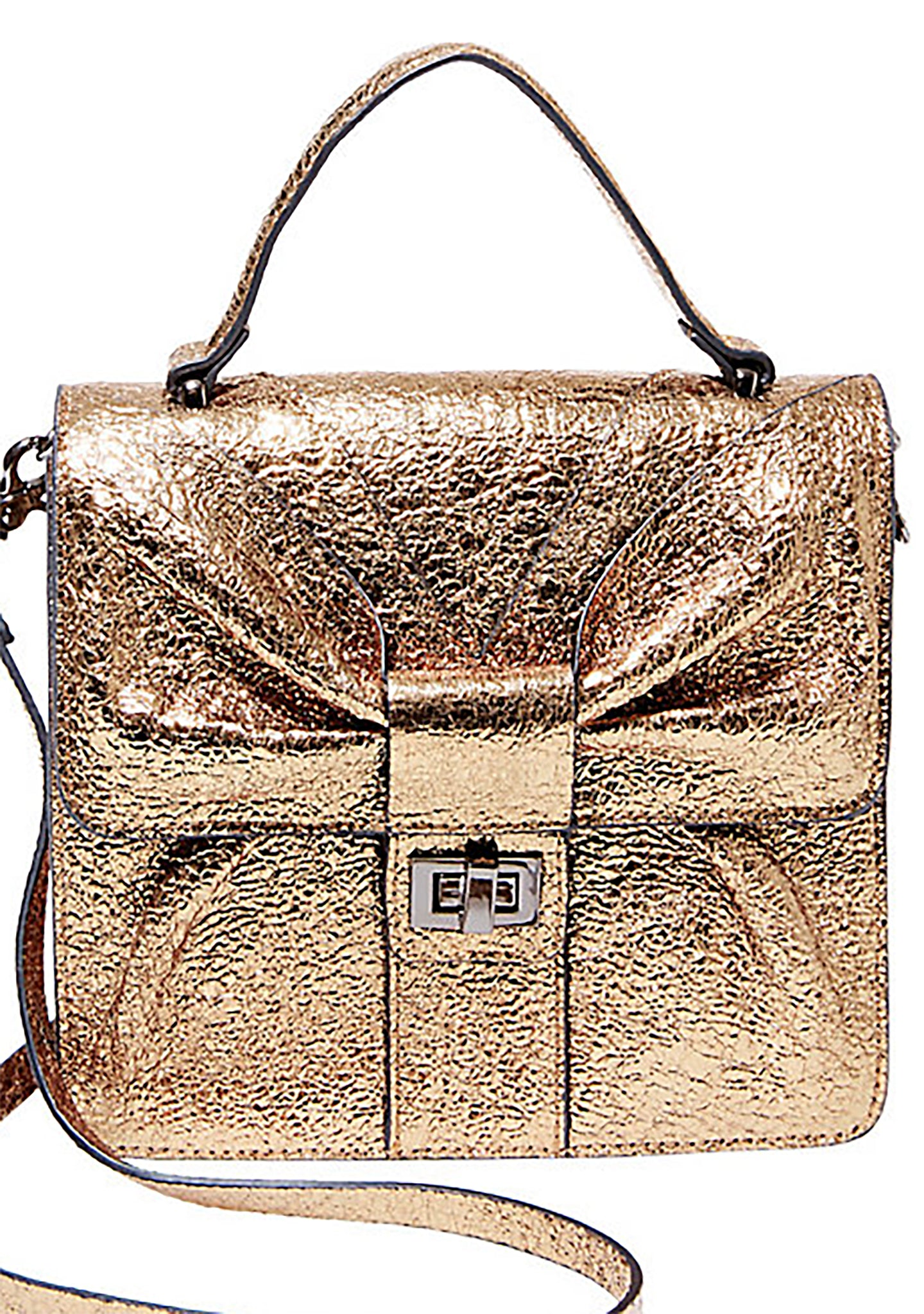 Bowtastic Top Handle Crossbody Bag