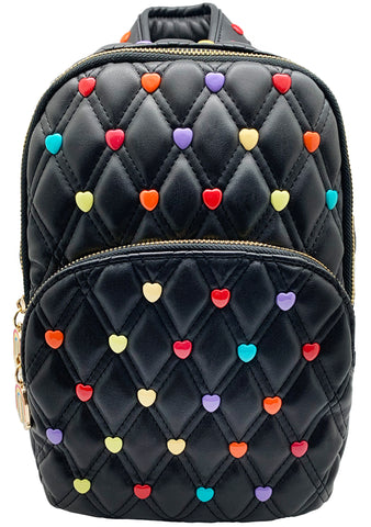 Candy Hearts Sling Mini Backpack