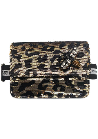 Diamond Honey Leopard Fanny Pack