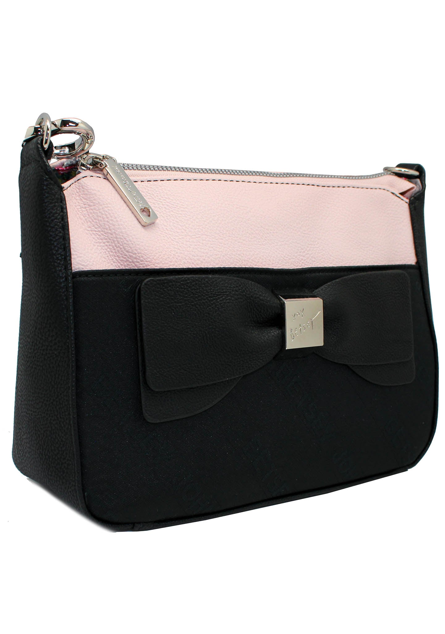 Double Up Bow Crossbody Bag