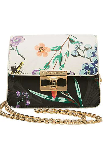 Betsey Johnson Every Betsey Girls Mini Crossbody Bag in Floral