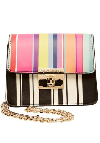 Betsey Johnson Every Betsey Girls Mini Crossbody Bag in Stripe