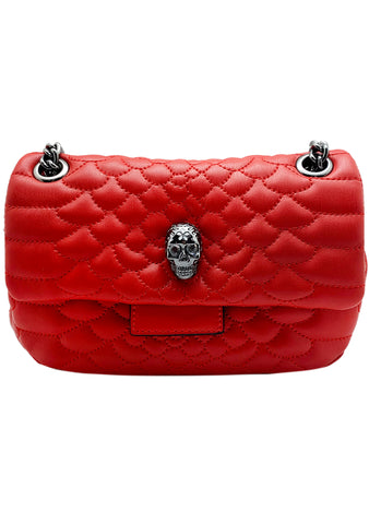 Heads Up Crossbody Bag in Red