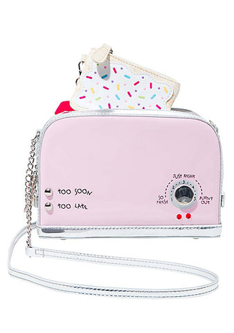 Kitsch A Toast To You Crossbody Bag in Pink