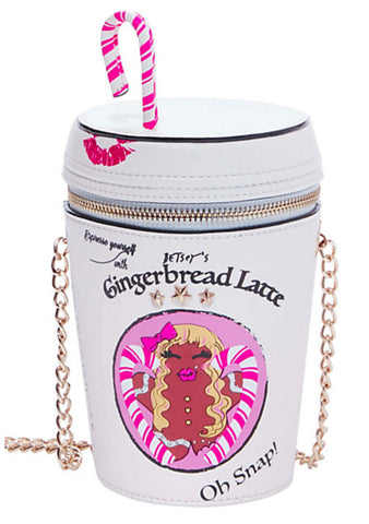 Kitsch Gingerbread Latte Crossbody Bag