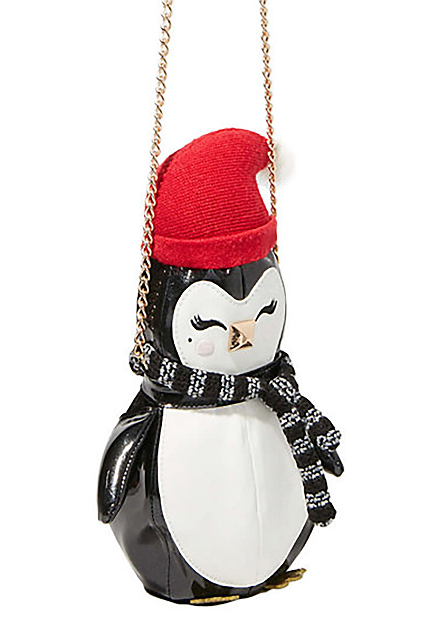 Betsey Johnson Kitsch Cozy Penguin Crossbody Bag