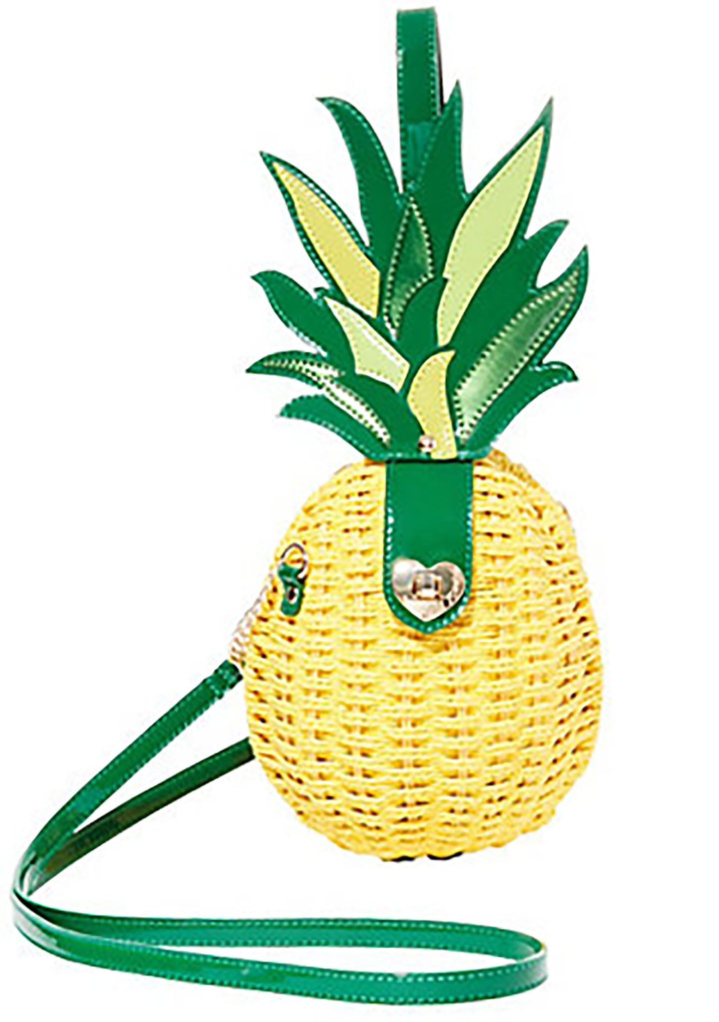 Kitsch Pineapple Surprise Crossbody Bag