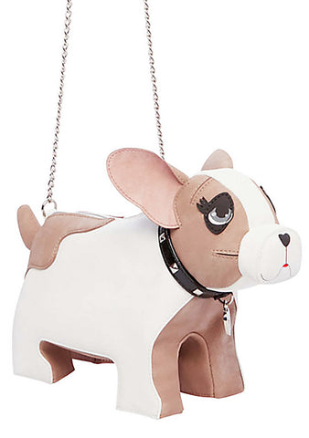 Kitsch Roxy Girl Dog Crossbody Bag