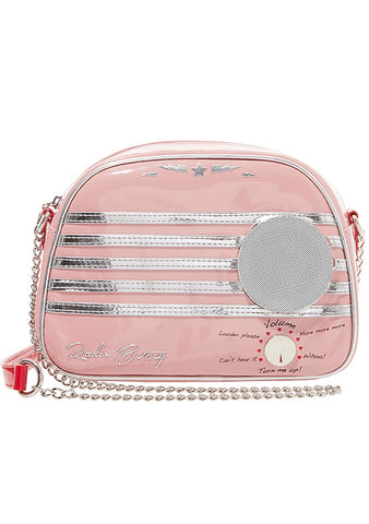 Kitsch Radio Waves Crossbody Bag