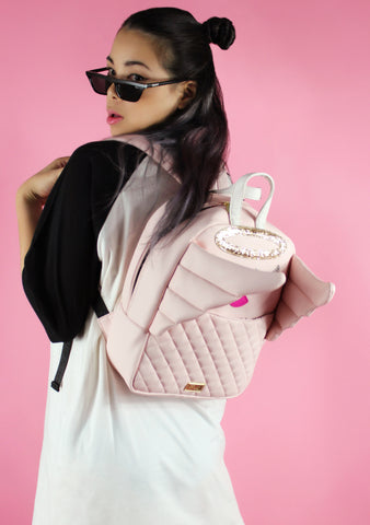 LBAngel Kitsch Backpack in Blush