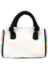 Betsey Johnson LBHARLE Rainbow Unicorn Mini Satchel Bag