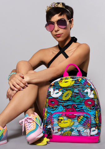 Betsey Johnson LBISEEU It's Summer Beach Party Backpack