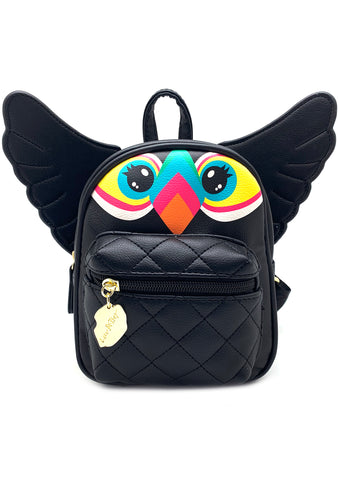 Betsey Johnson LBTOUCAN Electric Trance Toucan Mini Backpack