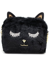 Cat Got Your Tongue Crossbody Bag