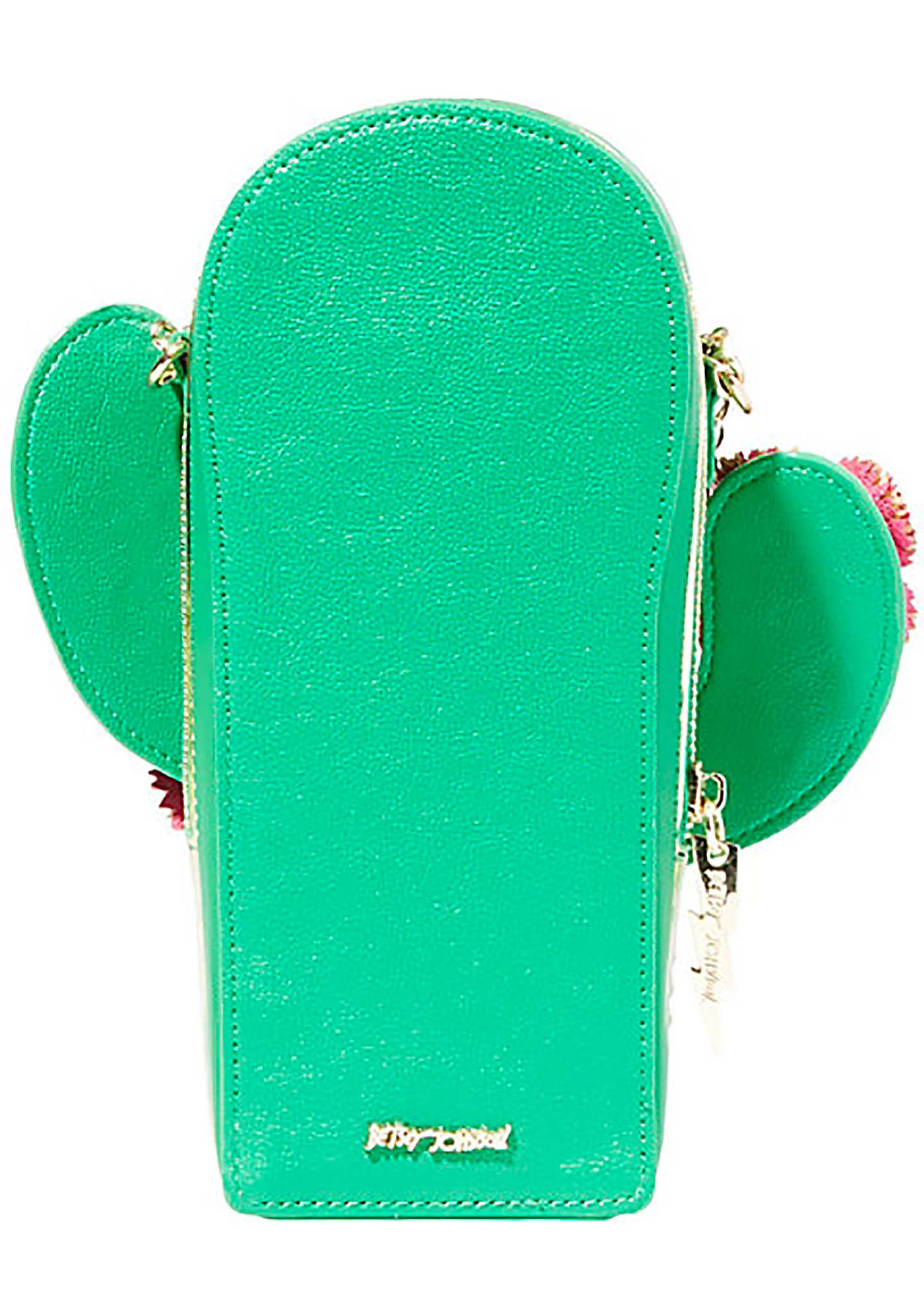 Kitsch Lookin Sharp Cactus Crossbody Bag