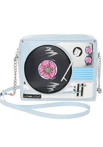 Betsey Johnson Play it DJ Betsey Crossbody Bag