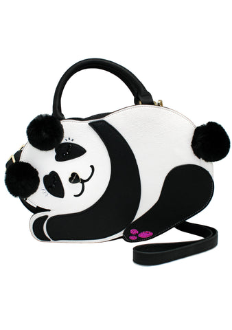 Precious Panda Kitsch Crossbody Bag